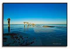 Seaford Pier (Thunder1203) Tags: australia canonaustralia canoncollective frankstoncity morningtonpeninsula portphillipbay seafordpier victoria construction jetty nisifilters panoramic pier seascape sunrise