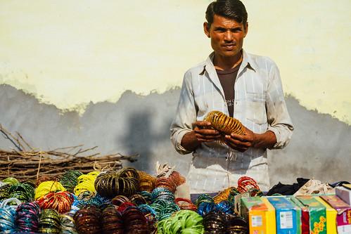 Bangles Vendor, Mathura India