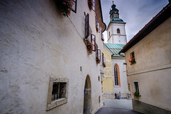 Škofja Loka Streets. Slovenia.