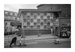 FILM - Numbers (fishyfish_arcade) Tags: acros100 analogphotography bw blackwhite blackandwhite filmphotography filmisnotdead fujifilm istillshootfilm monochrome neopan olympusom1 analogcamera film mono