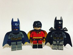 Batmans and Robin!