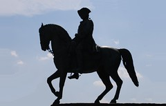 Equestrian Full Silhouetted Nr. 4 (Istvan) Tags: equestrianstatue equestrian vienna wien austria österreich memorial statue sculpture sky casparvonzumbusch mariatheresiendenkmal
