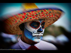 Mission San Luis Rey Day of the Dead 2018 (Sam Antonio Photography) Tags: missionsanluisrey sandiego male halloween man skull mexico mexican costume dayofthedead horror spooky traditional celebration sombrero culture death portrait muertos mariachi latin tradition guy adult character makeup allsoulsday diadelosmuertos