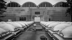 Pirkkolan uima- ja palloiluhalli (Mikael Neiberg) Tags: pirkkola helsinki roof architecture concrete windows