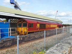 66200 RHTT Falmouth Docks (2) (Marky7890) Tags: dbcargo 66200 class66 3j15 falmouthdocks railway cornwall maritimeline train rhtt