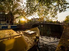 PA071821 (rpajrpaj) Tags: amsterdam city cityscape goldenhour autumn herfst nederland nederlandvandaag netherlands canal canals laowa