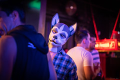 DSC08055 (Kory / Leo Nardo) Tags: frolic party frolicparty fur furry fursuit fursuiting sona fursona sanfrancisco california bar club theeaglebar eagle 2018 dance dj pupleo pup pupplay dog puppy rubberdawg mask rubber latex