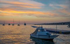 Novalja (05) (Vlado Ferenčić) Tags: vladoferencic sunset islands vladimirferencic sea seascape boat croatia croatianislands islandpag pagisland novalja nikond600 tamron247028 adriatic adriaticsea