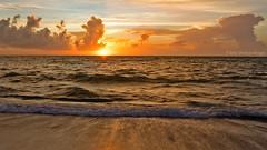 Hollywood Florida Sunrise FLK13448 (tonyteeimages2) Tags: sunrise sun sunshine morning dawn daybreak ocean sea water waves atlanticocean horizon beach florida southflorida