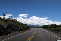 open road (BarryFackler) Tags: southkona clouds sky honaunau road windshield driving vehicle pickuptruck roadside vegetation maunaloa hondaridgeline hawaii tropical hawaiiisland polynesia hawaiicounty kona hawaiianislands bigisland westhawaii 2018 sandwichislands island barryfackler barronfackler drive blacktop asphalt outdoor mountain trees puuhonuaohonaunauroad