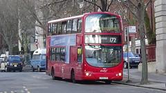 Abellio London no. 9050 (LF55CVX) @ Clerkenwell Green - 16/03/2018 (LucyMichela19xx) Tags: uk england clerkenwellgreen farringdon islington london bus buses busphotos busphotography transport transportphotography volvo b7tl wright eclipse gemini 9050 lf55cvx abelliolondon abellio route172
