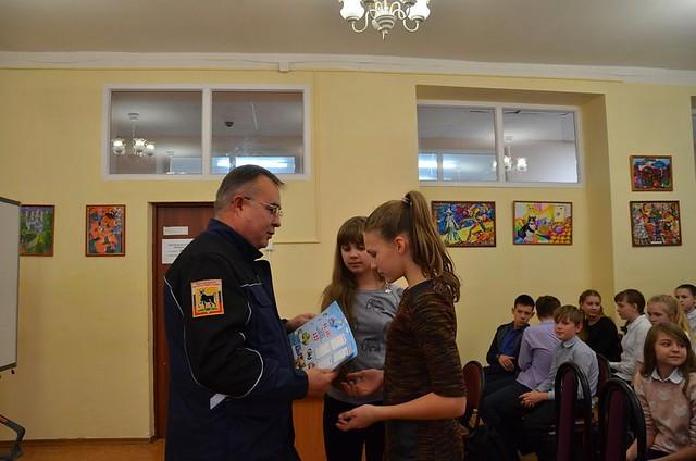 Сызранским школьникам рассказали, что делать во время чрезвычайной ситуации