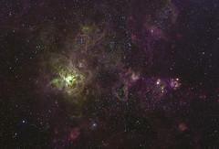 Narrowband Tarantula 3 (skogpingvin) Tags: tarantulanebula ngc2070 narrowband astrophotography