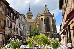 _DSC4011 (SLVA49) Tags: catedral torre flores gente farola casas cielo nubes nikon df 35mm