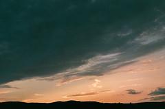 (Tamar Burduli) Tags: analog film color 35mm nature landscape sunset sky skyscape skyporn clouds cloud cloudporn orange green mountains mountainscape travel tbilisi georgia tamarburduli pentax fuji fujifilm sun light
