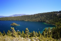 Emerald Bay, Lake Tahoe, California. September 2018. (Jen_wilsonphotography) Tags: emeraldbaystatepark nature nikon mountains sierranevadas sierranevadamountains bluesky holiday trip travel norcal northerncalifornia california laketahoe emeraldbay