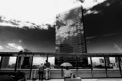 20180916 Urban (soyokazeojisan) Tags: japan osaka bw city blackandwhite digital olympus em1markⅱ 714mm 2018