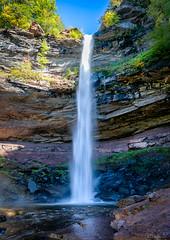 Upper Kaaterskill Falls (Modymark) Tags: falls water rock trees sky cascades nature
