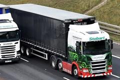 Stobart H202 PO18 OLG Margaret Rhona M62 J28 Leeds 11/9/18 (CraigPatrick24) Tags: eddiestobart stobartgroup stobart road vehicle transport truck lorry trailer delivery logistics cab m62 j28 leeds scania scaniar450 margaretrhona h202 marklee curtainsider po18olg