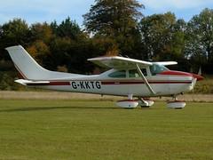G-KKTG Cessna 182R (c/n 67964) Popham (andrewt242) Tags: gkktg cessna 182r cn 67964 popham