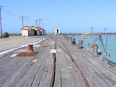 Oamaru Wharf (Southern Rails) Tags: oamaru port wharf track railway south island new zealand