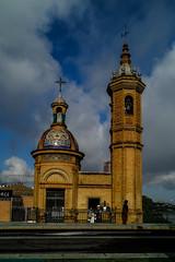 Capillita del Carmen (ameliapardo) Tags: capilla virgen devoción santos religión fe triana sevilla puente fujixt2 cielo nubes monumentos andalucía españa
