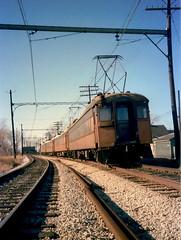 South Shore 11 Hammond 1979 2 (jsmatlak) Tags: chicago south shore bend indiana line interurban electric railway nictd train