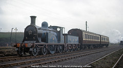 Caledonian Complete.. (Robert Gadsdon) Tags: 1966 caledoniansingle 123 caledoniancarriages kippsshed steam preserved closedshed
