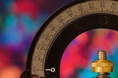 protractor (sure2talk) Tags: macromondays measurement measurementdevice protractor colourful shallowdof bokeh macro closeup nikond7000 nikkor85mmf35gafsedvrmicro