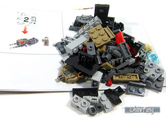 The entire building content for packet 2 (WhiteFang (Eurobricks)) Tags: lego star wars han solo story movie blockbuster spinoff gang outer rims tobias enfy nest high speed chase