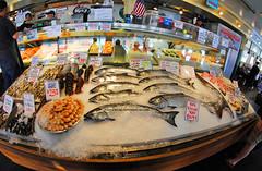 Pike Place Farmers Market (Infinity & Beyond Photography) Tags: seattle pike place farmers market indoor marketplace seafood 8mm samyang fisheye