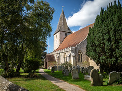 Holy Trinity Church, Bosham (Bob Radlinski) Tags: bosham westsussex england uk greatbritain travel europe
