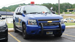 Michigan State Police (Emergency_Spotter) Tags: michigan state police steelies dual spotlights cherry light msp trooper petoskey