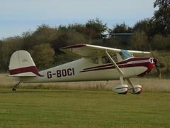 G-BOCI Cessna 140A (c/n 15497) Popham (andrewt242) Tags: gboci cessna 140a cn 15497 popham