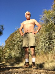 5613SunshineShoes (sampers56) Tags: bike bicycle ride sports hairy chest sunny october afternoon
