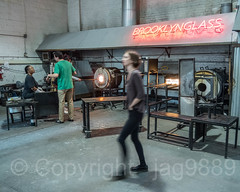 Brooklyn Glass Studio, Gowanus, New York City (jag9889) Tags: 2018 20181014 blownglass brooklyn event factory glass gowanus indoor kingscounty ny nyc neon newyork newyorkcity newyorkisopen ohny ohnyweekend openhouse openhousenewyork people shop studio usa unitedstates unitedstatesofamerica jag9889