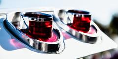 Impala lights (madmtbmax) Tags: style car american us usa auto retro vintage meeting show hobby metal shining chevrolet impala red tail light lights rear detail shiny chrome nikon d850 luminar