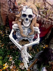 Storybook Hollow (PhotoJester40) Tags: outside outdoors skeleton goldenhair rapunzel fairytale storybookhollow amdphotographer female skeletalframe
