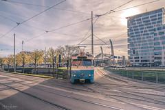 Destination Gothenburg (Fredrik Lindedal) Tags: tram train ullevi stadium building sky skyline sun travel tracks lindedal sverige sweden gothenburg göteborg