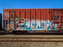 (gordon gekkoh) Tags: erupto327 a2m gtb d30 vts freight graffiti