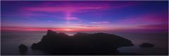 Aurora balear (Juan Sastre) Tags: pollensa illesbalears españa es amanecer alba nubes cielo montaña agua mar mediterraneo canon mallorca formentor airelibre color