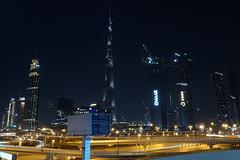 Dubai - Burj Khalifa (CHWVB) Tags: vae burj khalifa dubai street city night