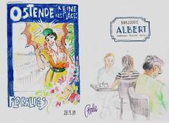 Brasserie Albert (CatherineHale) Tags: ostend belgium