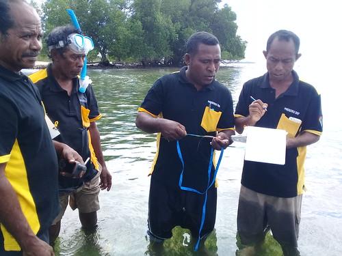 Pelatihan monitoring lamun Kabola 19