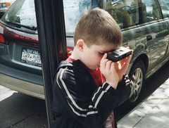 Teaching my son the love of photography using the simplest camera in my collection - a 1972 Kodak Pocket Instamatic Model 20. He thought it was pretty cool to take pictures, then get the prints back from CVS. Nyack, New York. March 2003 (wavz13) Tags: newyorkphotographs newyorkphotos analog vintageanalog oldphotographs oldphotos 2000sphotographs 2000sphotos oldphotography 2000sphotography vintagephotographs vintagephotos vintagephotography filmphotos filmphotography newyorkphotography oldnewyorkphotography 110film kodacolor analogphotography instamatic pocketinstamatic submini subminiature vintagekids oldcamera oldcameras vintagecamera vintagecameras pentaxauto110 grain grainy 110 learningphotography collectiblecameras vintagekodak collectiblekodak