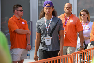 Recruits at Clemson vs Syracuse - 2018 Photos