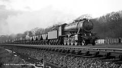 c.1964 - Hessle, East Yorkshire. (53A Models) Tags: britishrailways wd austerity 280 90272 steam freight hessle eastyorkshire train railway locomotive railroad