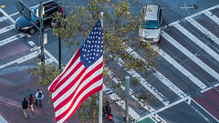 she will rise again (pbo31) Tags: sanfrancisco california nikon d810 color city urban october 2018 boury pbo31 fall civiccenter over view marketstreet america usa fleetweek flag siemer foxplaza