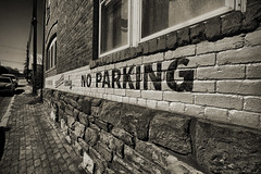tenants only (mikerosebery) Tags: newmexico nm silvercity noparking