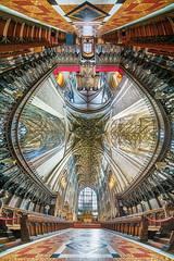 Gloucester Cathedral (Londonietis) Tags: gloucestercathedral cathedral gloucester hdr irix ultrawide photomatix sony england londonietis kestasbalciunas panorama vertorama